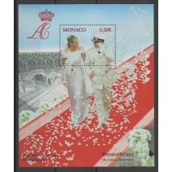 Monaco - Blocks and sheets - 2011 - Nb BF101 - Royalty