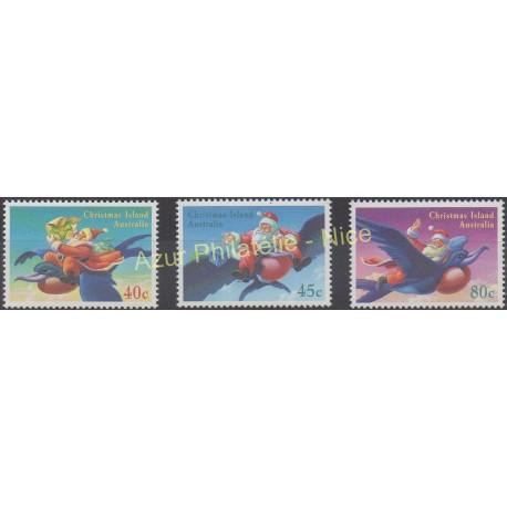 Christmas (Island) - 1995 - Nb 416/418 - Christmas