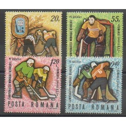 Romania - 1970 - Nb 2513/2516 - Various sports