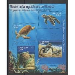 Monaco - Blocks and sheets - 2016 - Nb F3031 - Reptils
