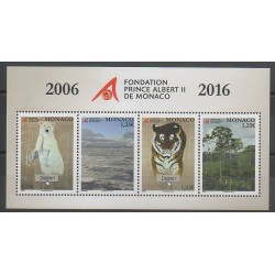 Monaco - Blocks and sheets - 2016 - Nb F3047 - Endangered species - WWF - Environment