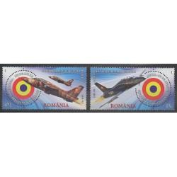 Romania - 2016 - Nb 6064/6065 - Planes