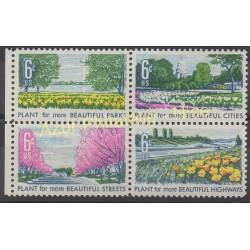 United States - 1969 - Nb 868/871 - Sites