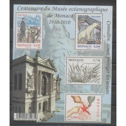 Monaco - Blocks and sheets - 2010 - Nb BF97 - Sea animals