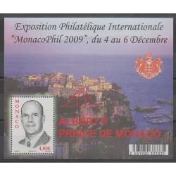 Monaco - 2009 - No BF94 - Exposition - Royauté - Principauté