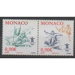 Monaco - 2009 - No 2710/2711 - Jeux olympiques d'hiver