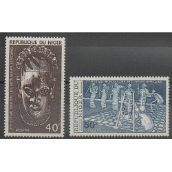 Niger - 1977 - No 387/388 - Art