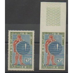 Niger - 1963 - No 134 - 134ND - Droits de l'Homme