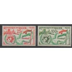 Niger - 1961 - Nb PA19/PA20