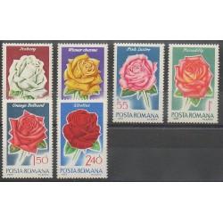 Romania - 1970 - Nb 2553/2558 - Roses