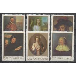 Roumanie - 1969 - No 2489/2494 - Peinture