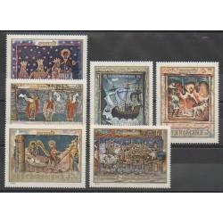 Roumanie - 1969 - No 2492/2502 - Peinture - Religion