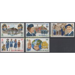 Man (Isle of) - 1985 - Nb 268/272 - Scouts