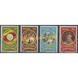 Zimbabwe - 1982 - No 39/42 - Scouts