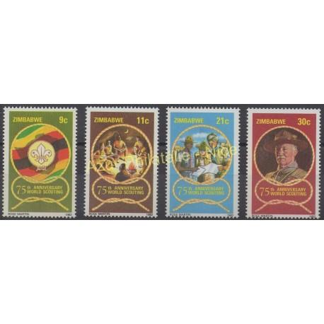 Zimbabwe - 1982 - Nb 39/42 - Scouts
