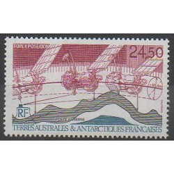 French Southern and Antarctic Lands - Airmail - 1992 - Nb PA123 - Space - Science