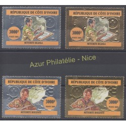 Stamps - Theme scouts - Ivory Coast - 2005 - Nb 1186/1189