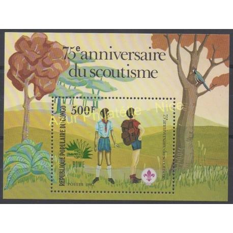 Congo (République du) - 1982 - No BF 29 - Scouts
