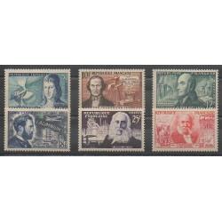 France - Poste - 1955 - Nb 1012/1017 - Science