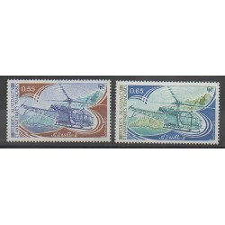French Southern and Antarctic Territories - Post - 1981 - Nb 92/93 - Helicopters