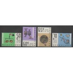 Pays-Bas - 1986 - No 1258/1261 - Sciences et Techniques
