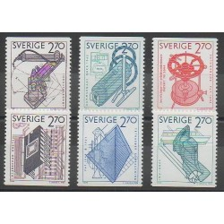 Suède - 1984 - No 1264/1269 - Sciences et Techniques