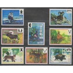 Poland - 1973 - Nb 2091/2098 - Mamals