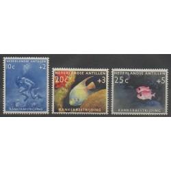 Antilles néerlandaises - 1960 - No 301/303 - Animaux marins