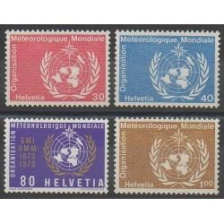Suisse - 1973 - No S437/S440 - Sciences et Techniques