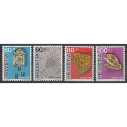 Suisse - 1994 - No 1455/1458 - Art