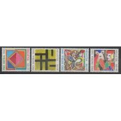 Suisse - 1991 - No 1374/1377 - Peinture