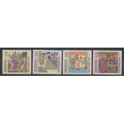 Suisse - 1989 - No 1319/1322 - Histoire