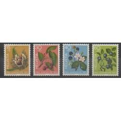 Swiss - 1973 - Nb 943/946 - Fruits