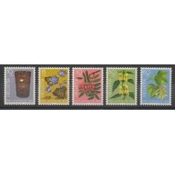 Suisse - 1975 - No 994/998 - Fleurs
