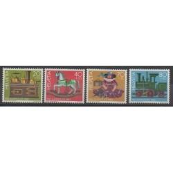 Suisse - 1983 - No 1189/1192 - Enfance