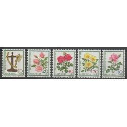 Suisse - 1982 - No 1165/1169 - Roses