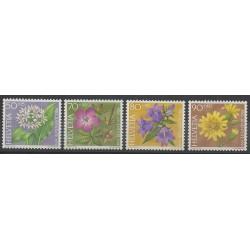 Suisse - 1991 - No 1383/1386 - Fleurs