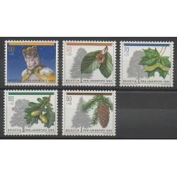 Swiss - 1992 - Nb 1411/1415 - Fruits
