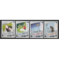 Suisse - 2005 - No 1859/1862 - Sciences et Techniques