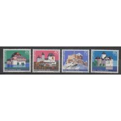 Suisse - 1978 - No 1060/1063 - Monuments