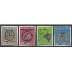 Swiss - 1980 - Nb 1106/1109 - Art