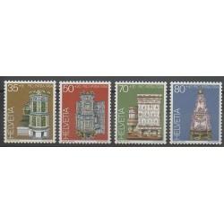 Swiss - 1984 - Nb 1201/1204 - Art