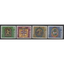 Swiss - 1983 - Nb 1180/1183 - Art
