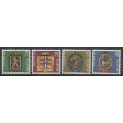Suisse - 1983 - No 1180/1183 - Art