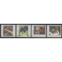 Swiss - 1986 - Nb 1246/1249 - Paintings
