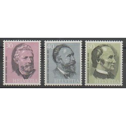 Suisse - 1974 - No 958/960 - Célébrités