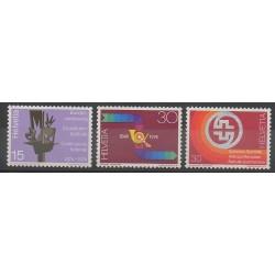 Swiss - 1974 - Nb 965/967