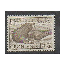 Greenland - 1973 - Nb 71 - Mamals - Sea animals