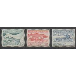 Groenland - 1971 - No 66/68 - Navigation - Polaire