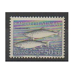 Greenland - 1983 - Nb 128 - Sea animals